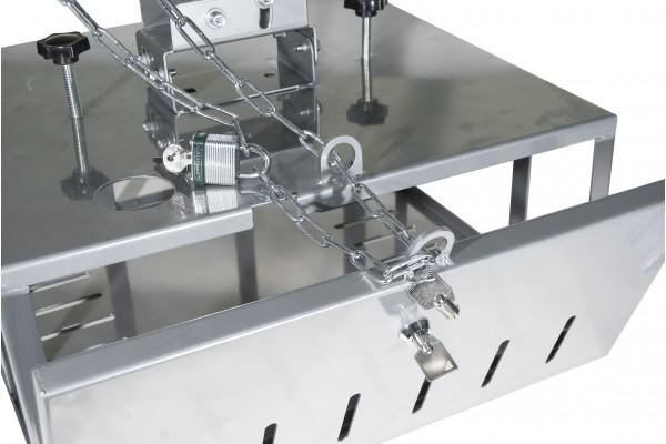 Support vidéoprojecteur plafond, bras de 290 à 860 mm, caisson ...